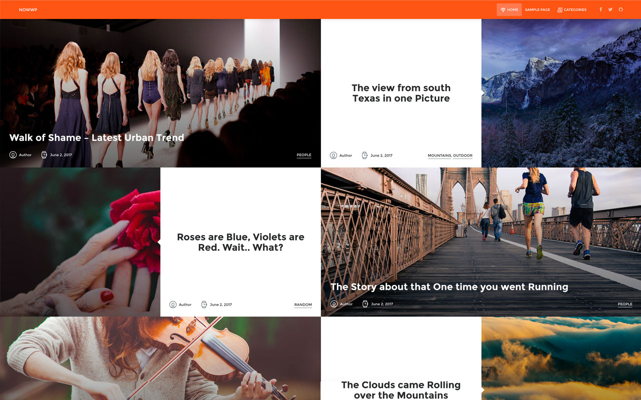 NowWP WordPress Theme